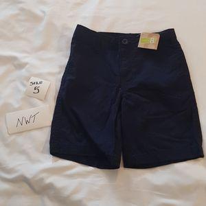 Boys blue shorts Crazy 8